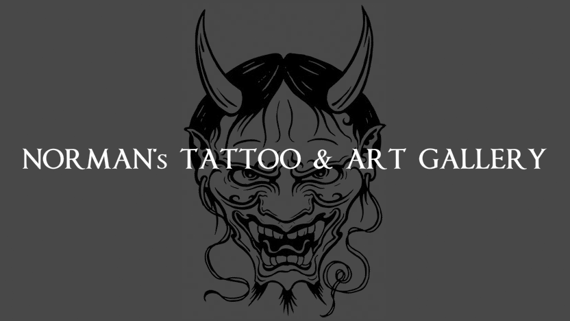 Logo Normans Tattoo